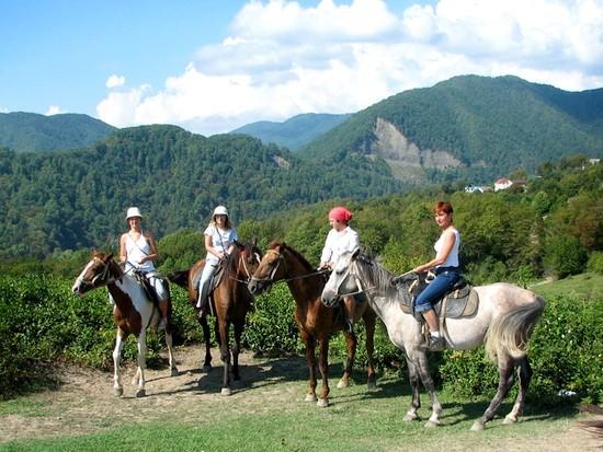 конные экскурсии